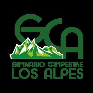 gimnasio los alpes logo